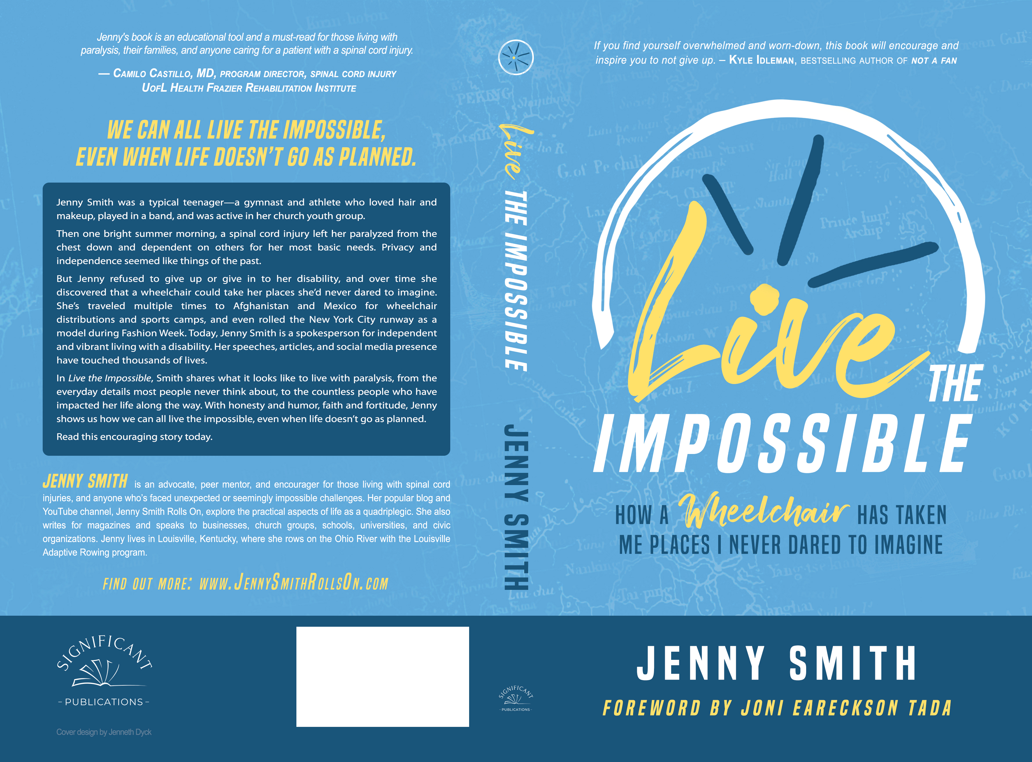 Live the Impossible Spine Proof 3.3
